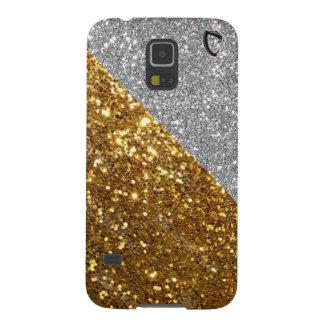 Cobraman Silver & Gold Samsung Galaxy 5s cover