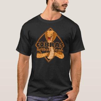 Cobras Softball Team Logo Shirt