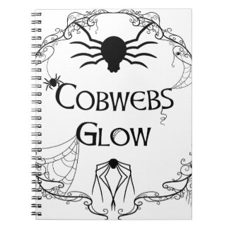 Cobwebs Glow Notebook