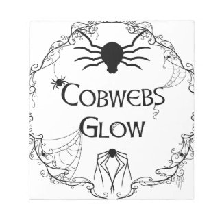 Cobwebs Glow Notepad