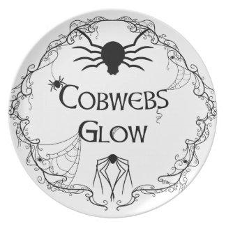Cobwebs Glow Plate