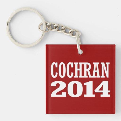 COCHRAN 2014 ACRYLIC KEYCHAIN