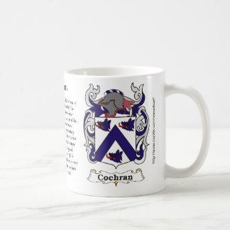 Cochran Family Coat of Arms mug