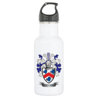 Cochran Family Crest Coat of Arms 532 Ml Water Bottle
