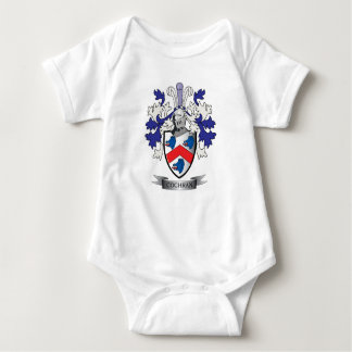 Cochran Family Crest Coat of Arms Baby Bodysuit