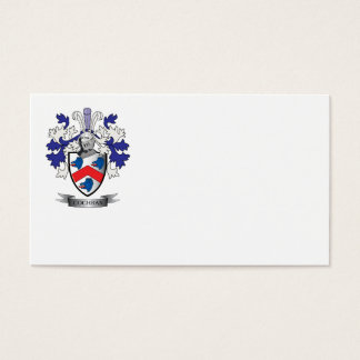 Cochran Family Crest Coat of Arms Business Card