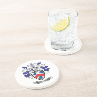 Cochran Family Crest Coat of Arms Drink Coasters