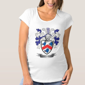 Cochran Family Crest Coat of Arms Maternity T-Shirt