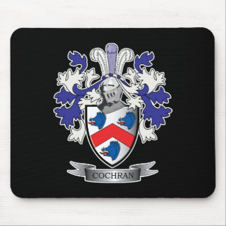 Cochran Family Crest Coat of Arms Mouse Pad