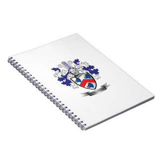 Cochran Family Crest Coat of Arms Notebooks