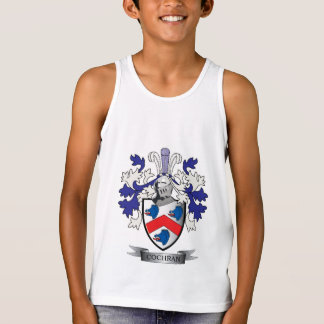 Cochran Family Crest Coat of Arms Tank Top