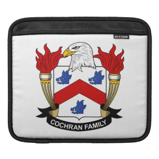 Cochran Family Crest Sleeve For iPads