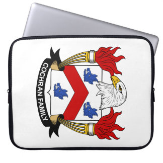 Cochran Family Crest Computer Sleeves