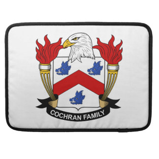 Cochran Family Crest Sleeves For MacBooks