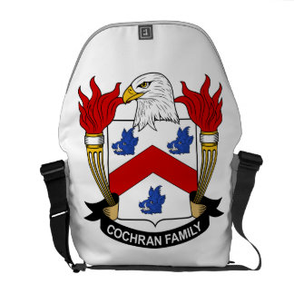 Cochran Family Crest Courier Bags