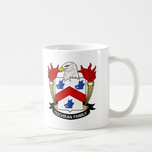 Cochran Family Crest Mugs