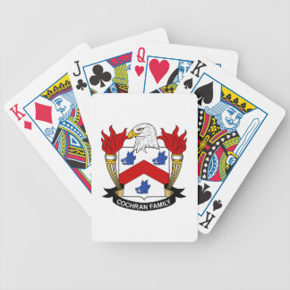 Cochran Family Crest Poker Cards