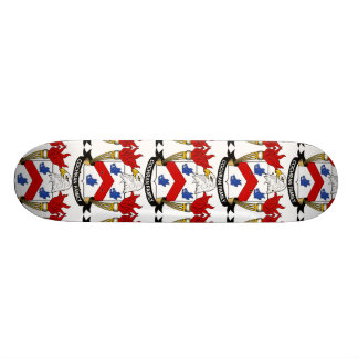 Cochran Family Crest Skate Board Deck