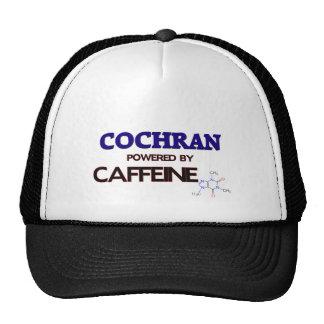 Cochran powered by caffeine trucker hat