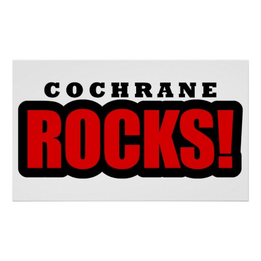 Cochrane, Alabama City Design Posters