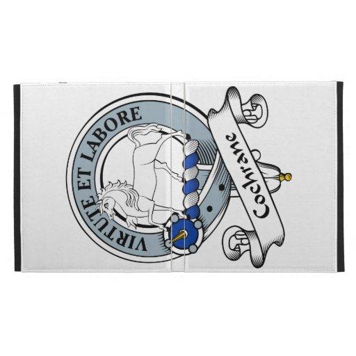 Cochrane Clan Badge iPad Cases