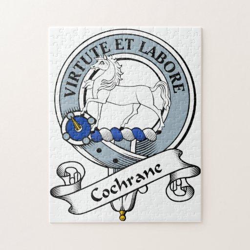 Cochrane Clan Badge Jigsaw Puzzle
