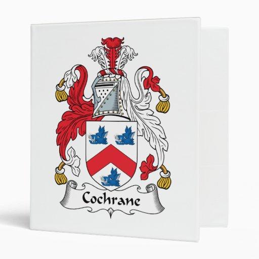 Cochrane Family Crest Binder