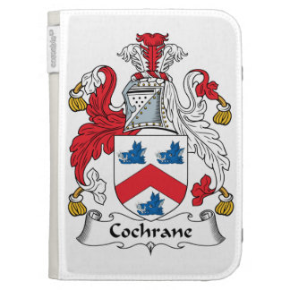 Cochrane Family Crest Kindle 3G Covers