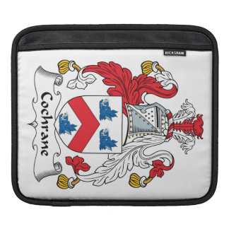 Cochrane Family Crest Sleeves For iPads
