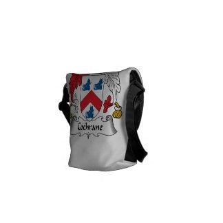 Cochrane Family Crest Messenger Bags