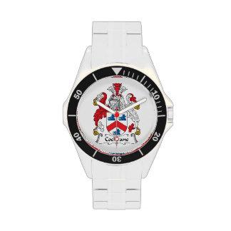 Cochrane Family Crest Wristwatches