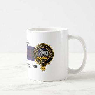 Cochrane Scottish crest and Tartan mug