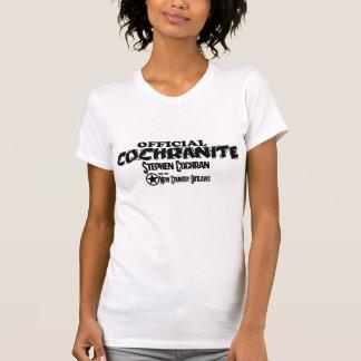 Cochranite with name tee shirt