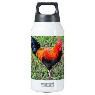Cock-A-Doodle-Do Insulated Water Bottle