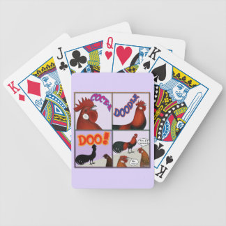 Cock-A-Doodle-Doo! Bicycle Playing Cards