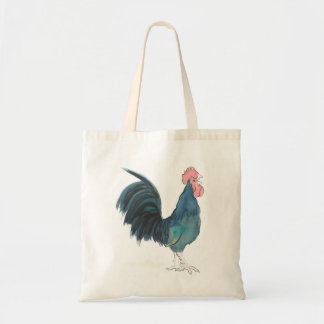 Cock-a-doodle-doo Cockerel shopping bag