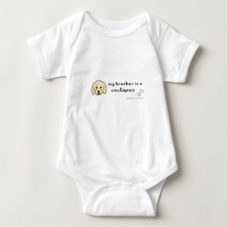 cockapoo baby bodysuit