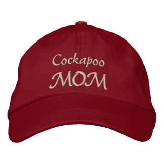 Cockapoo Mom Gifts Embroidered Hats