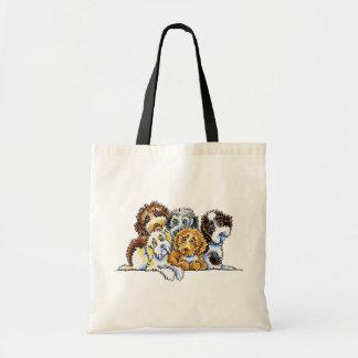 Cockapoo Rainbow Tote Bag