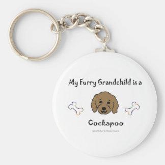 CockapooBrown Keychain