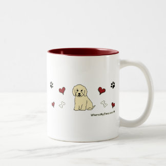CockapooCream Two-Tone Coffee Mug