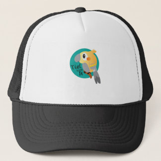 Cockateil Tiel With It Funny Trucker Hat