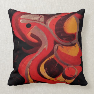 Cockatequila Red Large Pillow