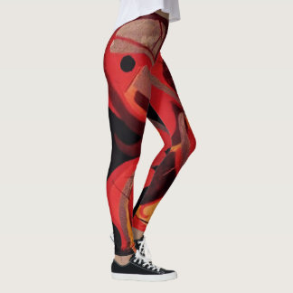 Cockatequila Red Leggings