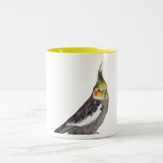 Cockatiel (11oz) Two-Tone coffee mug