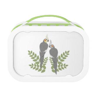 Cockatiel Couple Lunch Box