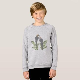 Cockatiel Couple Sweatshirt