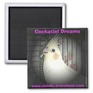 Cockatiel Dreams magnet