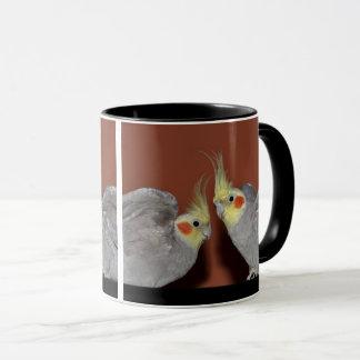 Cockatiel Duo Mug