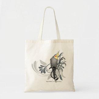 Cockatiel gris sacs fourre-tout
